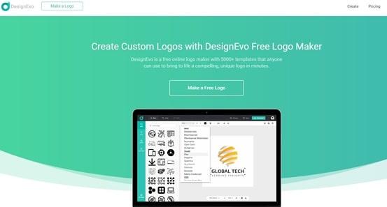 DesignEvo Review - DesignEvo Home