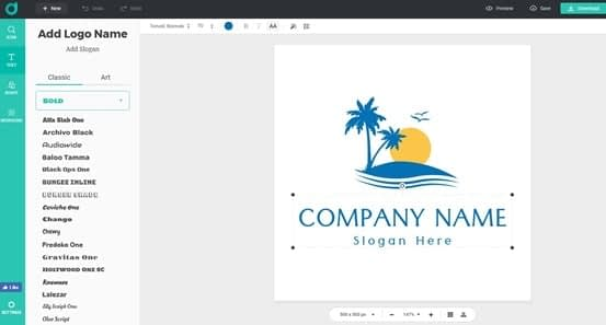 DesignEvo Download Logo