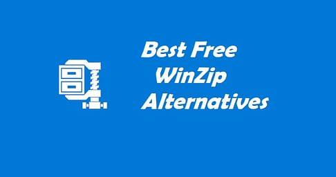 Free WinZip Alternatives