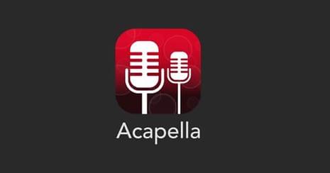 Acapella app for PC